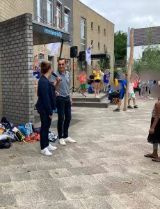 Opening schoolplein